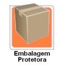 Embalagem protetora para transporte